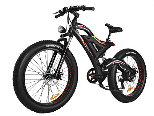 Addmotor MOTAN Electric Mountain Bike Snow Beach Bikes Fat Tire (Large Image)
