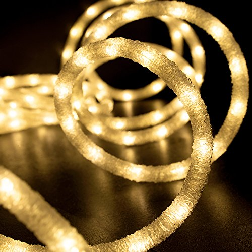 18 Cool White Led Indoor/Outdoor Christmas Rope Lights in US - 6