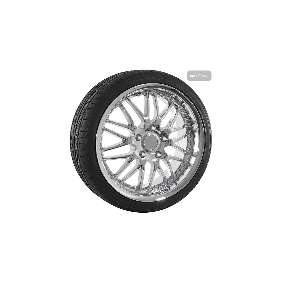 19 Inch Chrome Mesh Wheels Tires Porsche 911 Carrera Boxster Cayman