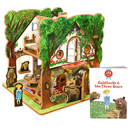 STORYTIME TOYS Goldilocks and The Three Bears Book and Toy Set from STORYTIME TOYS