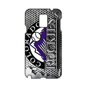 Angl 3D Colorado Rockies Phone Case for Diy For SamSung Galaxy S5 Case Cover