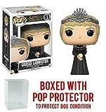 Funko Pop! Game of Thrones: GOT - Cersei Lannister #51 Vinyl Figure (Bundled with Pop BOX PROTECTOR CASE)