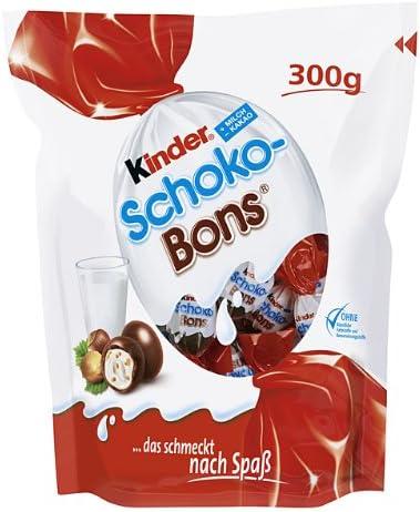 Chocolates Kinder Schoko Bons Paquete de 4x Fundas (4 x 300gr ...