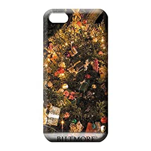 iphone 5c 6p phone case skin Shock Absorbent covers Durable phone Cases biltmore house christmas tree