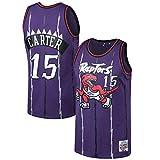 LeeMinHUI #15_Vince_Carter_Toronto_Raptors_Purple 1998-99 Hardwood Classics Swingman Jersey