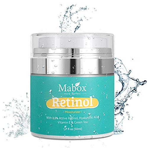 OSAYES Retinol Moisturizer Face Cream, Anti Aging Formula Reduces Wrinkles and Fine Lines Retinol Cream with Vitamin A D E, 1.7 Fl.Oz with 2.5% Active Retinol, Hyaluronic Acid, Green Tea