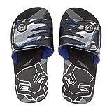 Shop Disney Marvel Black Panther Sandals For Kids - Flip Flops Beach Water Shoes (11/12)