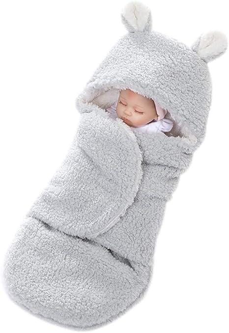 YeahiBaby Mantitas de Arrullo para Bebé Recién Nacido para Cochecito de Bebé Manta Suave y Cálida para Niños y Niñas de 0 a 12 meses (Gris): Amazon.es: Bebé