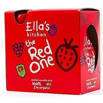 (10 PACK) - Ellas Kitchen - Smoothie Fruit - Red One multpck | 5 x 90g | 10 PACK BUNDLE