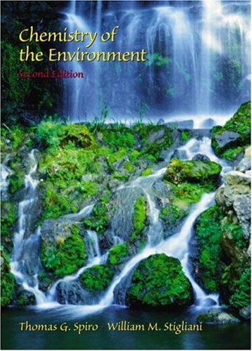 Chemistry of the Environment (2nd Edition)