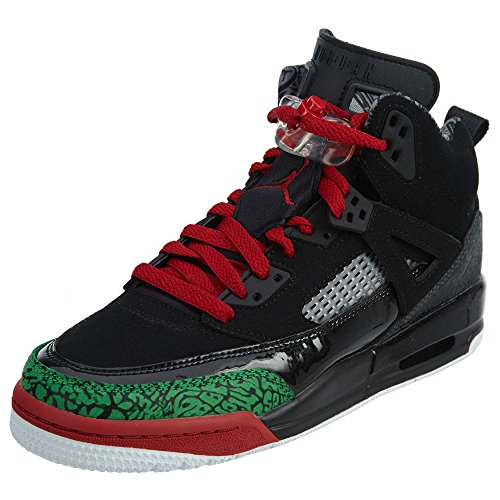 buy popular 80111 b973f Jordan Nike Kids Spizike BG Black Varsity Red Basketball Shoe 7 Kids US