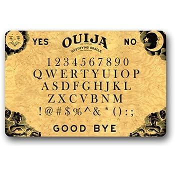 Amazon Com Ouija Board Doormat Indoor Outdoor Floor Mat