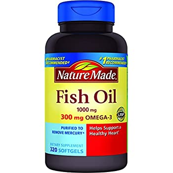 Nature Made Fish Oil Pearls  Mg Softgel  Count