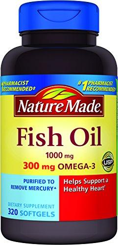 Nature Made 莱萃美 Omega-3鱼油1000mg,320粒