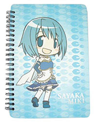 Hunters Softcover - Great Eastern Entertainment Madoka Magica Sayaka Softcover Notebook