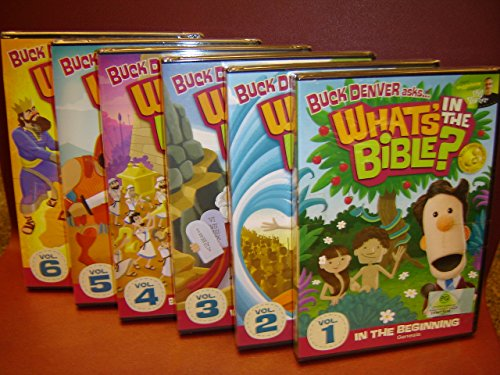 Buck Denver asks... ''What's in the Bible?'' 1-6 DVD Pack by Jellyfish One, LLC