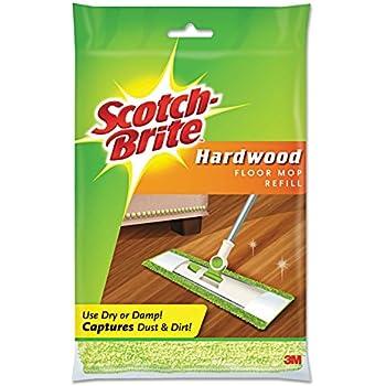 Hardwood Floor Mop Refill, Microfiber, Sold as 1 Each, 12PACK , Total 12 Each