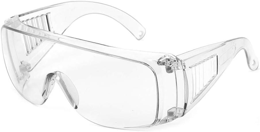 Cyxus Gafas de Seguridad con Lentes Transparentes, Antivaho Resistente a Los arañazos Protección contra el viento Gafas Gafas profesionales para laboratorio, Taller