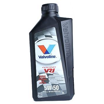 Valvoline VR1 Racing 5 W-50 Aceite de motor (1 L): Amazon.es: Coche y moto