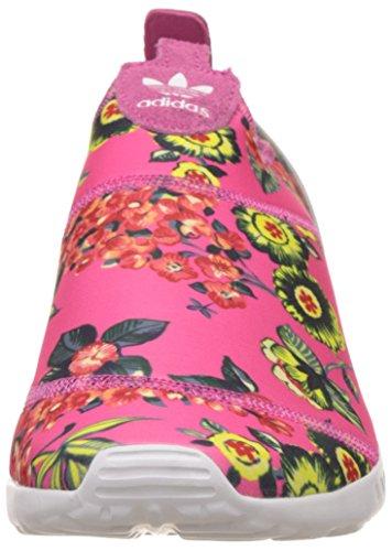 Adidas Flux Mujer Zx Rosa Zapatillas Para Blanco Smooth r4qrxnz