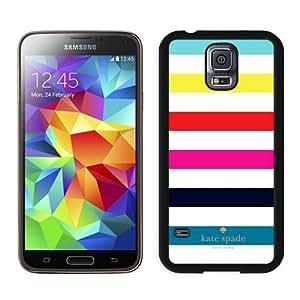 Genuine Kate S5 Case,Kate Spade 280 Black Samsung Galaxy S5 Screen Phone Case Fashion and Charming Design