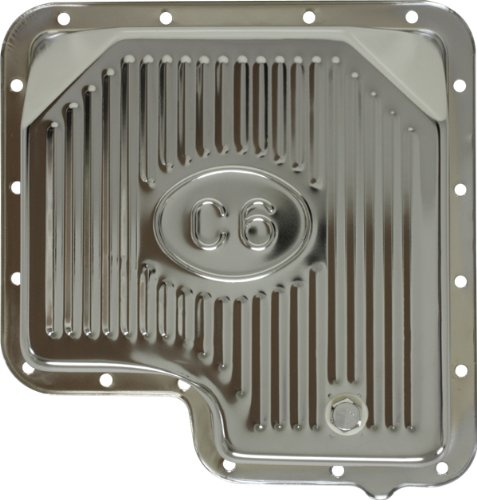Ford C6 Steel Transmission Pan - Chrome