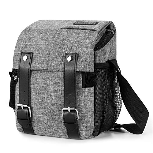 Amzbag Camera Bag DSLR Camera Messenger Bag Case with Should