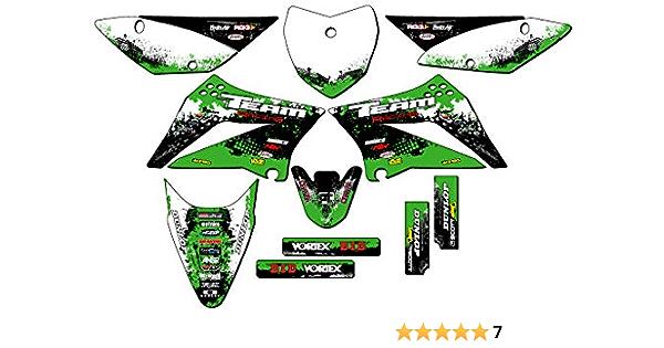 2020 KING STYLE stickers Custom Graphics Kit to fit Kawasaki KLX 110-2010