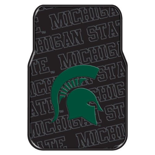 Officially Licensed NCAA Michigan State Spartans Auto Front Floor Mat, (Michigan Floor)