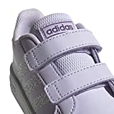adidas Kids Grand Court Sneaker, Purple Tint/Matte