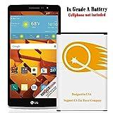4000mAh Extended Slim Li-ion Battery for LG G Stylo H631 T-Mobile Smartphone -  URS2GO