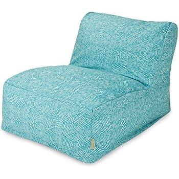 majestic home goods navajo bean bag chair lounger teal garden outdoor. Black Bedroom Furniture Sets. Home Design Ideas