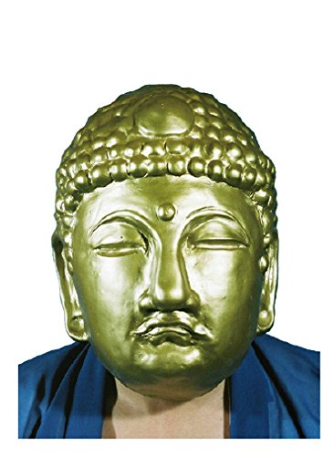Big Buddha Daibutsu Gold Rubber Mask Cosplay [JAPAN] -