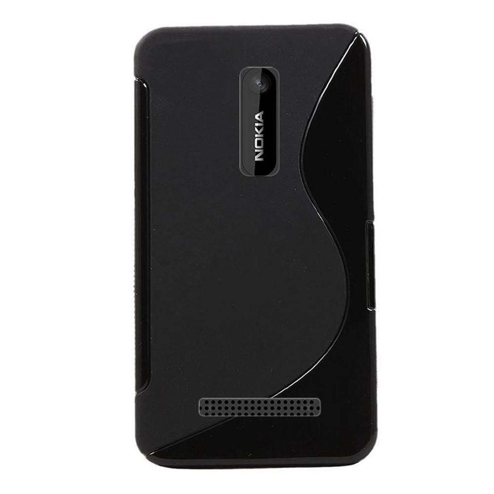 hot sale online 31367 7998e Wellmart Grip Back Cover For Nokia Asha 210