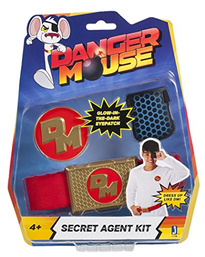 Danger Mouse Secret Agent Kit - Role Play Eyepatch/Belt and Badge from Danger Mouse