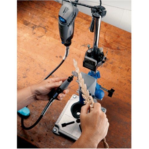 Dremel 220-01 Rotary Tool Workstation Drill Press Work Station with Wrench by Dremel (Image #3)