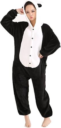 LIHAO Pijama Disfraz de Panda para Adulto Unisex, Cosplay ...