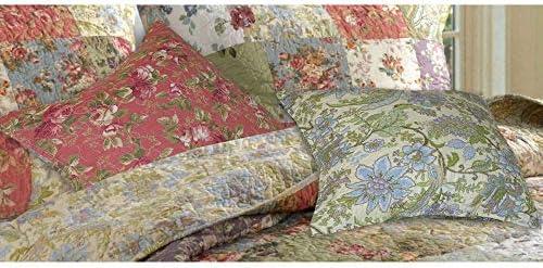 Greenland Blooming Prairie Decorative Pillow Pair 16 x 16