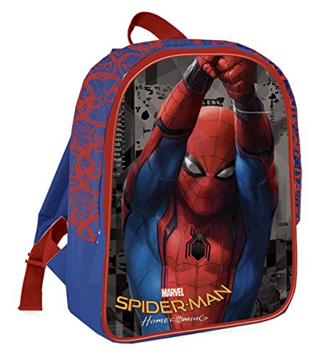 Coriex Web Time Spider-Man Standard Rucksack Kinderrucksack, Mehrfarbig, M