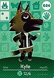 Animal Crossing Nintendo Amiibo Card # 24 Kyle