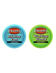 O\'Keeffe\'s Working Hands & Healthy Feet Combination Pack of...