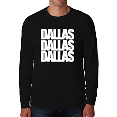 Eddany Dallas three words Long Sleeve T-Shirt