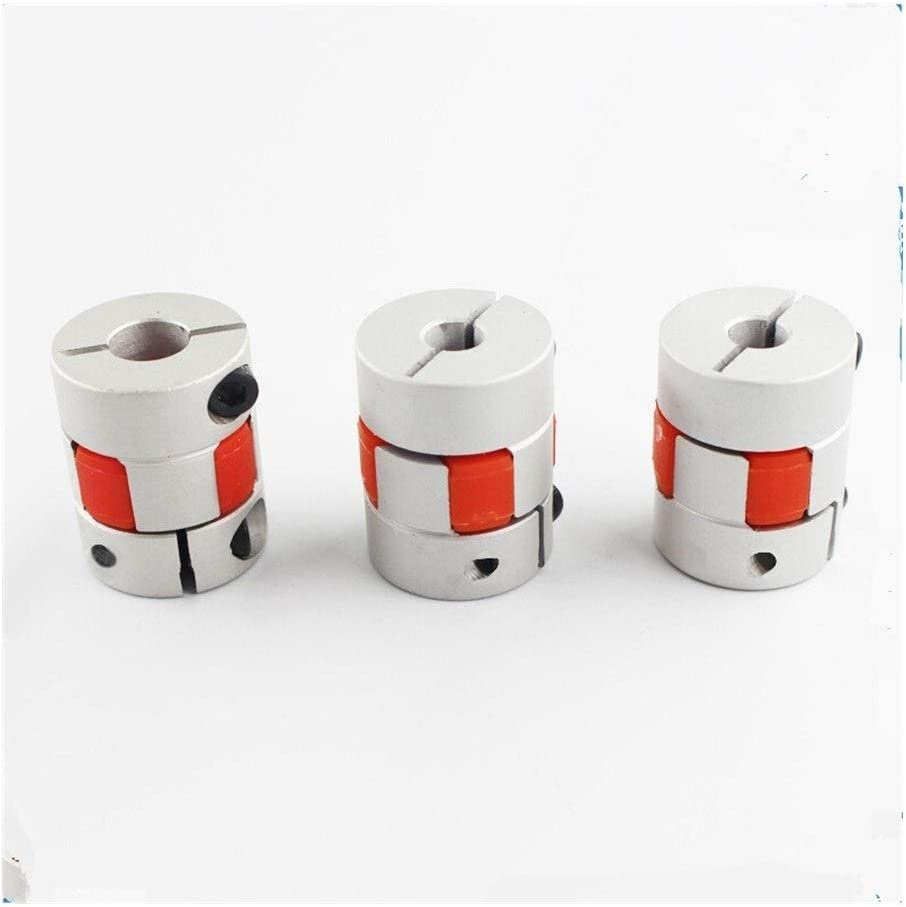 XXBY Coupling Shaft Funssor 2pcs Z axis 5x8mm Jaw Shaft Coupler for Reprap Creality CR-10 3D Printer 5mm to 8mm Flexible Coupling Router Connector Connection