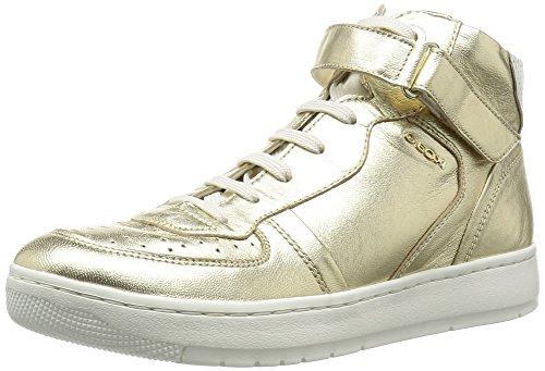 Scarpe Alto A A D Geox Nimat Donna lt Collo Gold Oro ActaZ