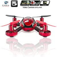 Drone with Camera Quadcopter JXD 392 - Mini Drones - Built in Camera, Easy Flight Control, Stable Landing, Fast Response Remote, 4GB SD Card & Reader - KiiToys