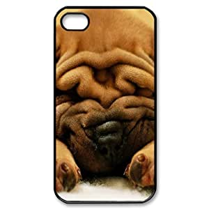 FOCUSCASE Hard Shell Diy Case Of Cute Dog ,Customized Bumper Plastic case For Iphone 4/4s