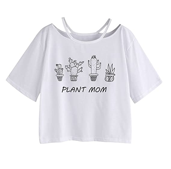 Camisetas Manga Corta Mujer Camiseta Cortas Chica Basica Camisas Anchas Tops Oversize Camisa Cuello Redondo Personalizadas Playeras Señora Top Estampadas ...