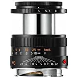 Leica Macro-Elmar-M 90mm f/4 Manual Focus Lens, 2.6 Minimum Focus Distance, USA Warranty