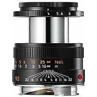 Leica Macro-Elmar-M 90mm f/4 Manual Focus Lens, 2.6 Minimum Focus Distance, USA Warranty