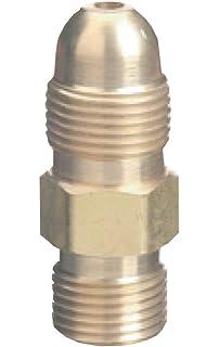 Thoroughbred TB-306 CGA-520 Valve to CGA-200 Acetylene Regulator Adapter